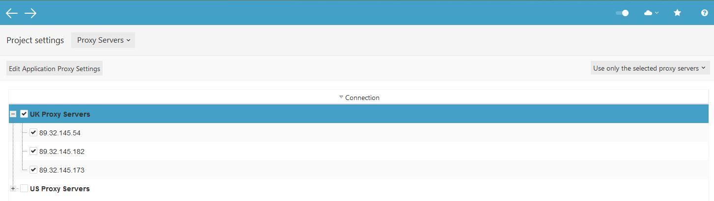 Select UK Proxy Servers