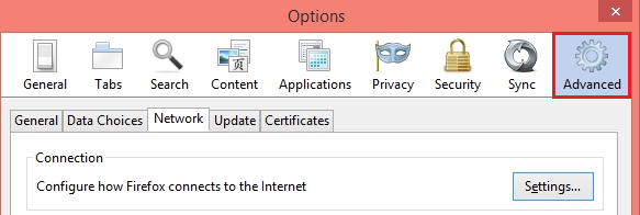 Configure Firefox to Use a Proxy Server - Help Guides