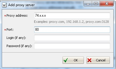 Configure Web CEO to Use Proxy Servers - Help Guides - Trusted Proxies