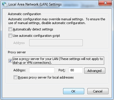 Configure Safari to Use a Proxy Server on Windows - Help Guides
